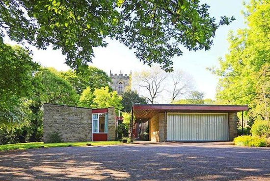 1960s midcentury-style four-bedroom property in Sheffield, South Yorkshire