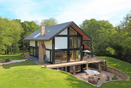 On the market: Five-bedroom contemporary eco house in Heathfield, East Sussex