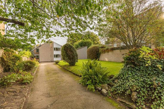 1960s modernist property in Edinburgh, Midlothian, Scotland