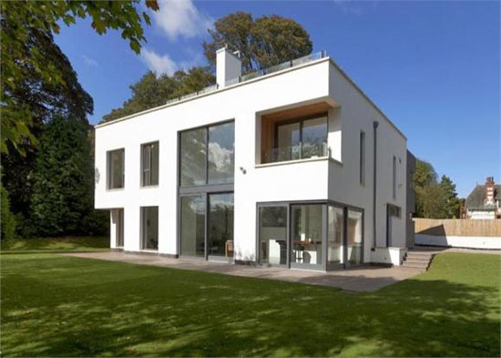 whiteleaf house six bedroom contemporary modernist house in grange
