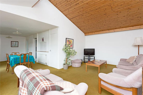 1960s time capsule modernist house in Edinburgh, Scotland