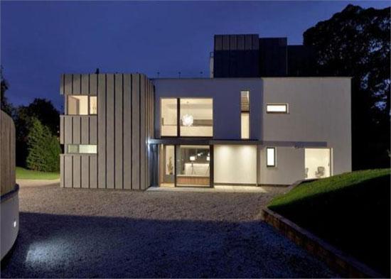 Whiteleaf House - six-bedroom contemporary modernist house in Grange, Edinburgh