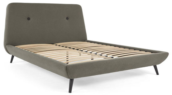 Midcentury interior: 1960s-style Edwin bed at Made