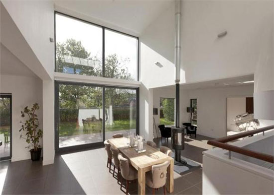 Whiteleaf House - six-bedroom contemporary modernist house in Grange, Edinburgh