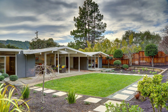 On the market: 1960s midcentury Eichler property in San Rafael. California, USA