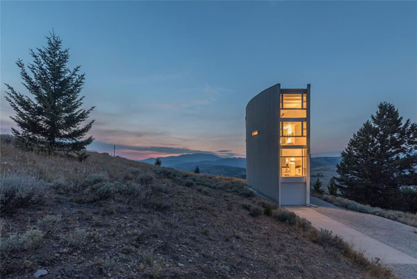 William Massie modernist property in Townsend, Montana, USA