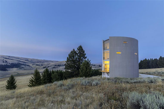 William Massie modernist property in Townsend, Montana, USA
