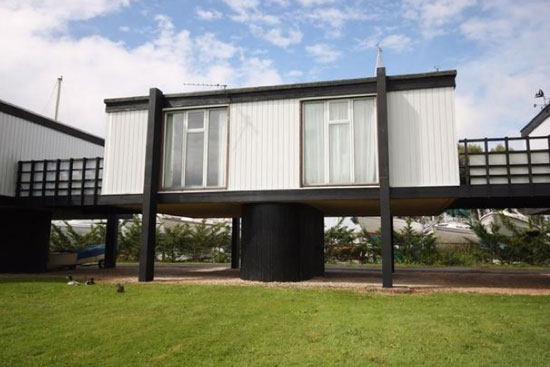 On the market: The Deck House 1960s harbour-side property in Emsworth', Hampshire