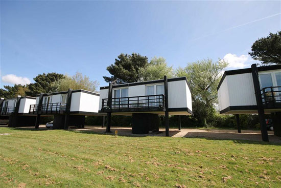 In need of renovation: 1960s Vernon Gibberd-designed deckhouse in Emsworth, Hampshire