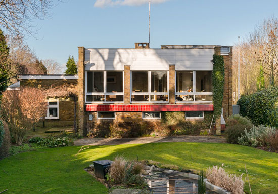 On the market: 1970s William Wilkinson-designed modernist property in Enfield, Greater London