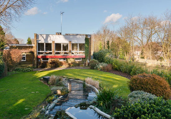1970s William Wilkinson-designed modernist property in Enfield, Greater London