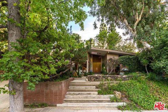 On the market: 1960s Cliff Burlew-designed midcentury modern property in Encino, Los Angeles, California, USA