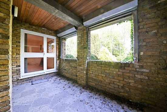 1970s William Wilkinson modernist property in Enfield, Greater London back on the market