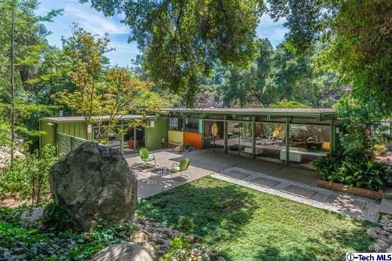 On the market: 1950s Richard Leitch-designed midcentury property in Altadena, California, USA