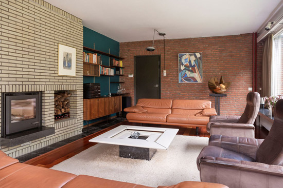 1960s modern house in Enschede, Holland