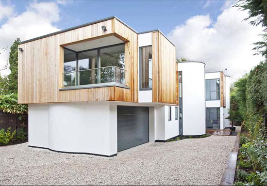 On the market: Robin Crane-designed contemporary modernist property in Esher, Surrey