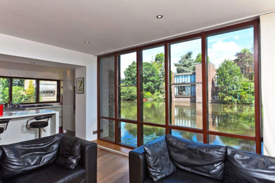 1970s Royston Summers-designed five bedroom modernist house in Esher, Surrey
