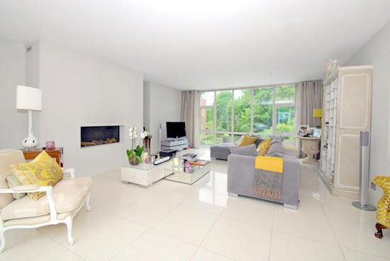 1970s Royston Summers-designed four bedroom modernist property in Esher, Surrey
