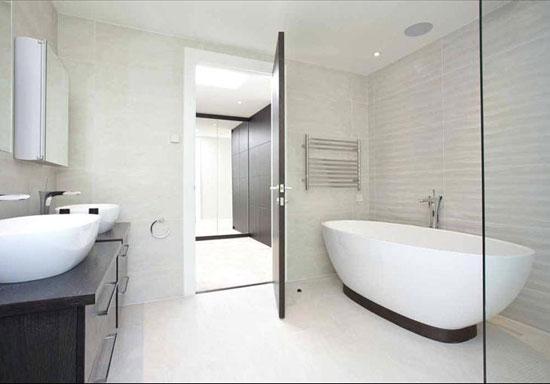 Robin Crane-designed contemporary modernist property in Esher, Surrey