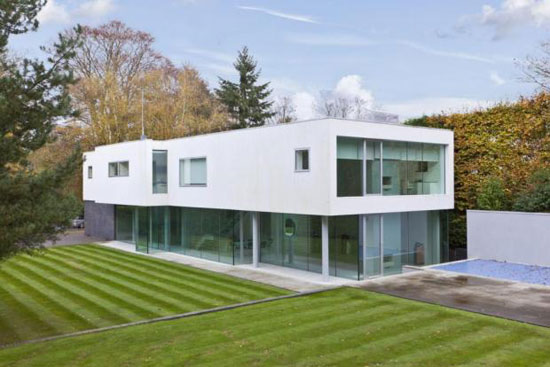Five bedroom modernist Esher House property in Esher, Surrey