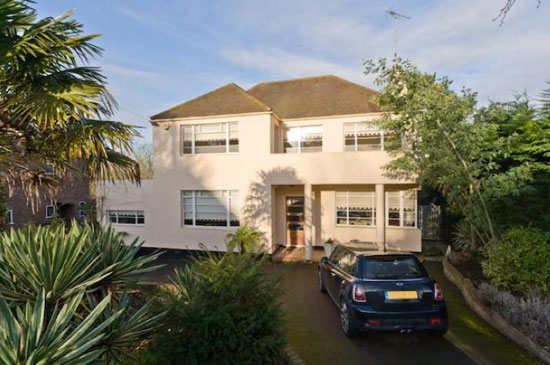 On the market: Four-bedroom 1930s art deco-style property in Esher, Surrey