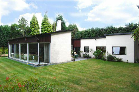 1950s four-bedroom modernist property in Esher, Surrey
