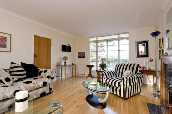 Four-bedroom 1930s art deco-style property in Esher, Surrey