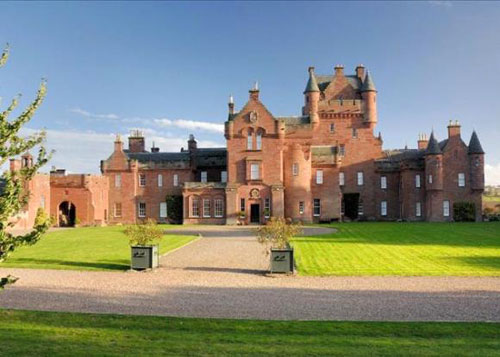 On the market: 17-bedroom Ayton Castle in Eyemouth, Berwickshire