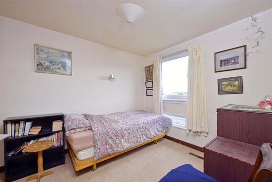 1960s modern house in Eyemouth, Berwickshire, Scotland