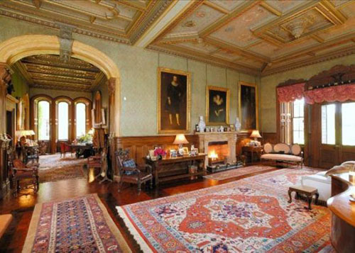 17-bedroom Ayton Castle in Eyemouth, Berwickshire