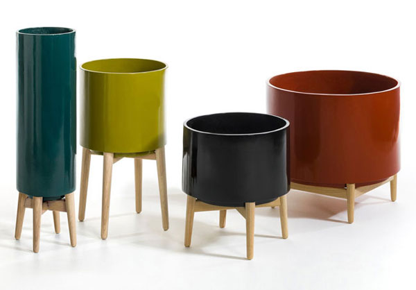 Florian midcentury planters back at La Redoute