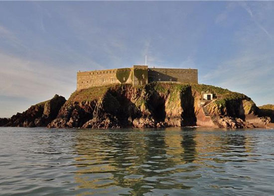 On the market: 19th century Thorn Island fortress near Pembroke, Pembrokeshire