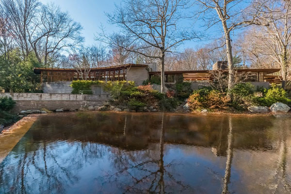 Frank Lloyd Wright for sale: Tirranna in New Canaan, Connecticut, USA