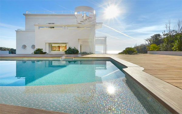 30. Art deco villa with private beach in Cap D'Antibes, Cote D'Azur, south east France