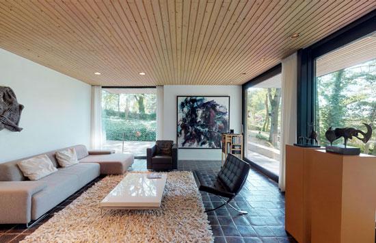 1970s Huub Debije modern house in Nuth, Holland