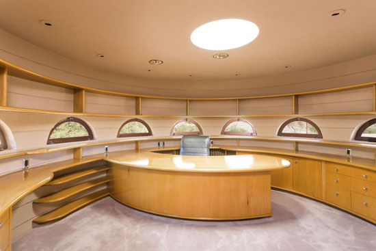 Frank Lloyd Wright-designed Lykes Home in Phoenix, Arizona, USA