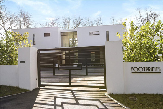 On the market: Footprints contemporary modernist property in Stoke Poges, Buckinghamshire