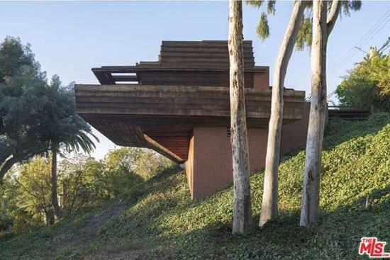 Up for auction: Frank Lloyd Wright-designed The Sturges Residence in Los Angeles, California, USA