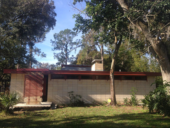 On the market: 1950s J Bruce Spencer-designed midcentury property in Lakeland, Florida, USA