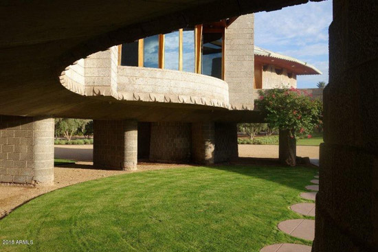 David and Gladys Wright House by Frank Lloyd Wright in Phoenix, Arizona, USA