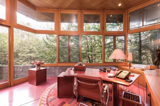 Frank Lloyd Wright-designed Tirranna in New Canaan, Connecticut, USA