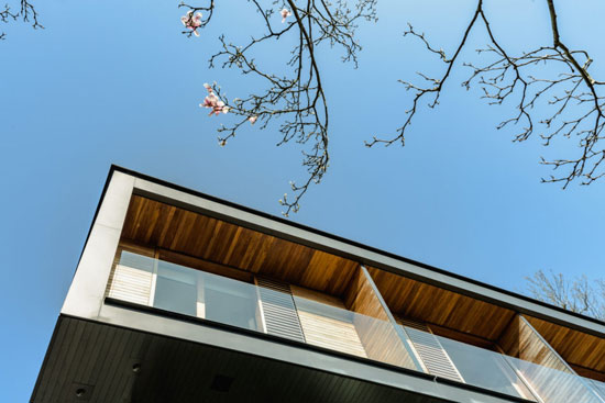 Stanton Williams modernist house in Fitzroy Park, London N6