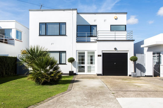 On the market: 1930s J. T. Shelton-designed modernist property in Frinton-On-Sea, Essex