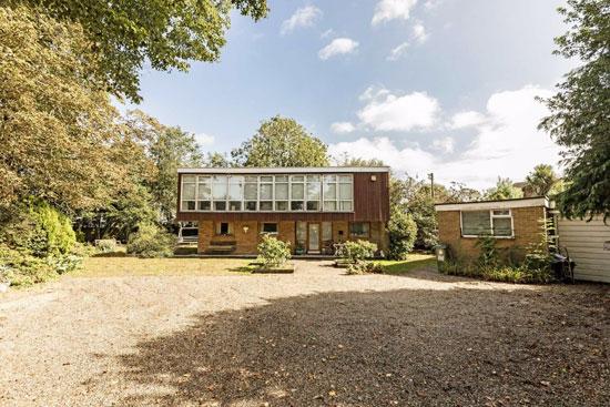 1960s Kenneth Wood modern house in Hampton, Greater London