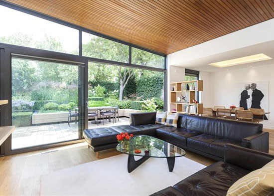 1960s Austin Vernon & Partners-designed midcentury property on the Dulwich Estate, London SE21