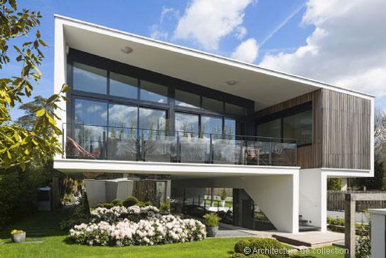 On the market: Frank Salama-designed contemporary modernist property ...