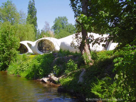 3. 1960s Pascal Hausermann-designed space age bubble houses in Raon-l'Etape, north eastern France