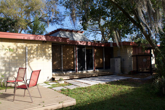 1950s J Bruce Spencer-designed midcentury property in Lakeland, Florida, USA