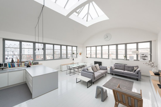 3W-designed apartment in The Factory, Norwich, Norfolk
