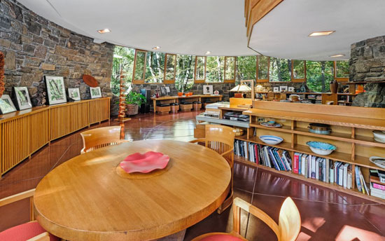 Frank Lloyd Wright-designed Sol Friedman House in Pleasantville, New York